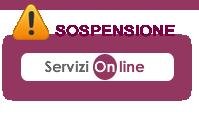 [12.06.2017] Sospensione Servizi online