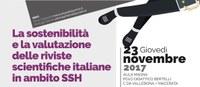 Sostenibilità e valutazione riviste SSH