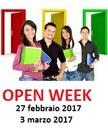 Open week 2017