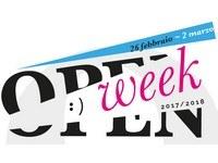 Open week 2018